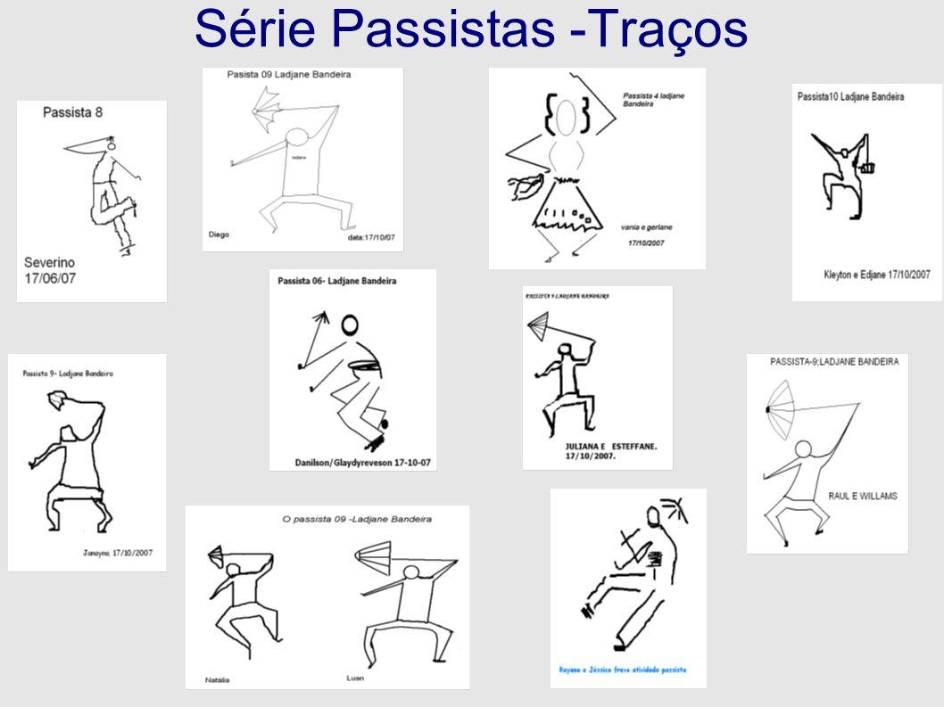 Série Passistas -Traços