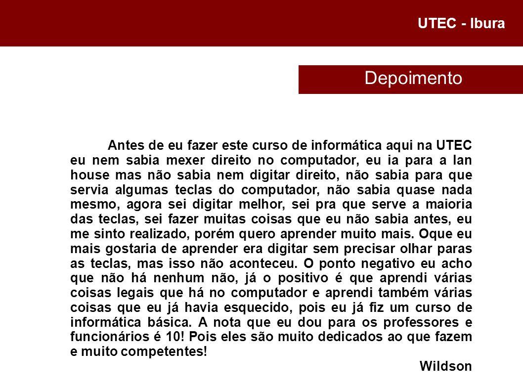 UTEC - Ibura Rogério Desenho no Kolourpaint