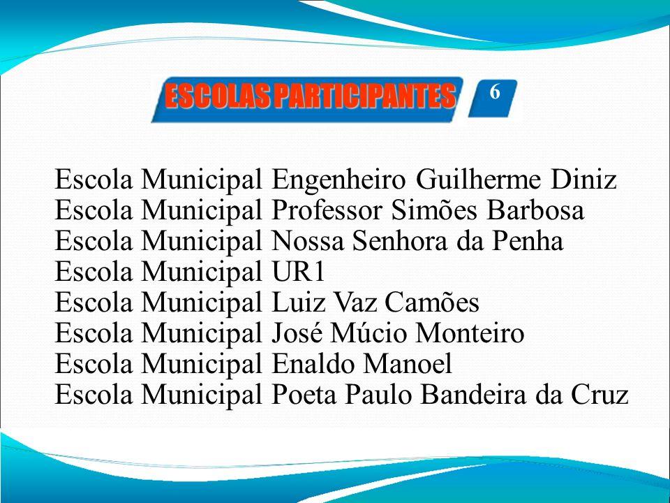 Escola Municipal Engenheiro Guilherme Diniz Escola Municipal Professor Simões Barbosa Escola Municipal Nossa Senhora da Penha Escola Municipal UR1 Esc