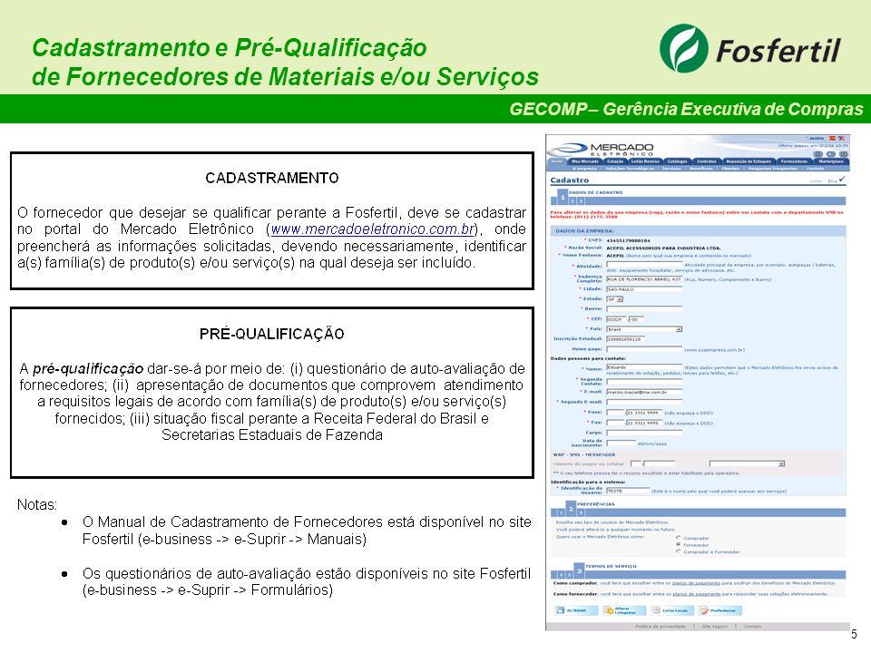 GECOMP – Gerência Executiva de Compras 16 Monitoria de Fornecedores de Serviços - Pontuação.