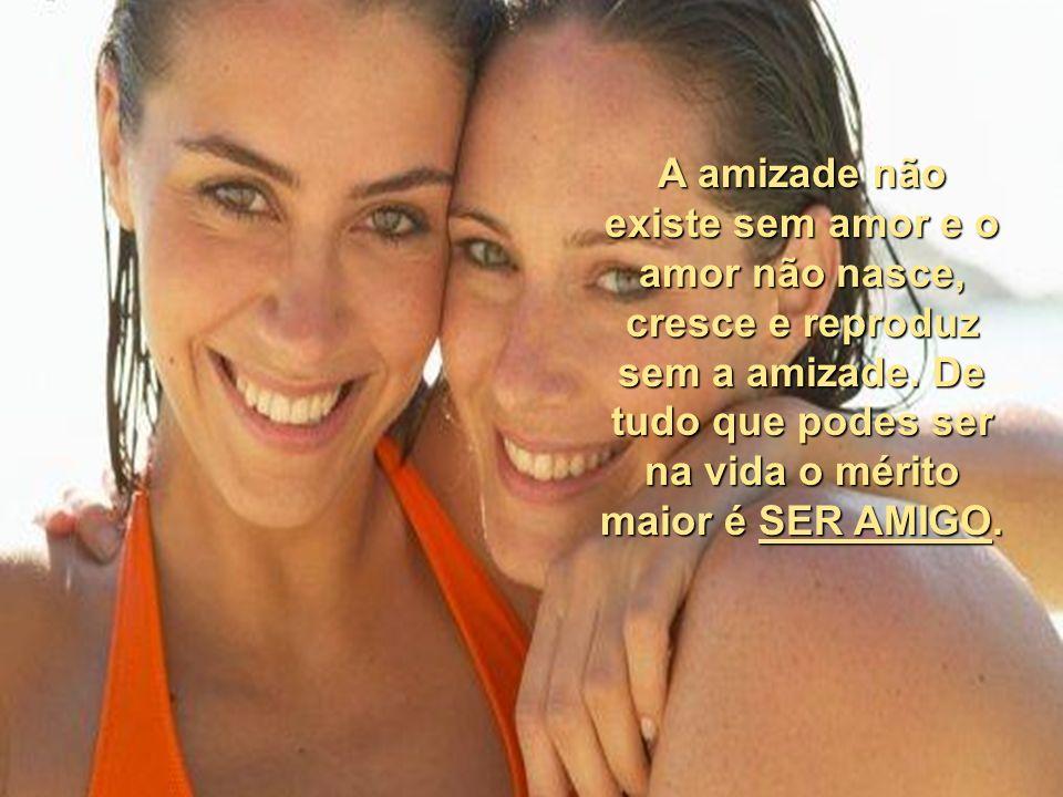 Não deixe a chama da amizade se apagar, seja leal, honesto e acima de tudo amigo. Pois de todos os sentimentos que levamos na alma, a amizade é tudo q