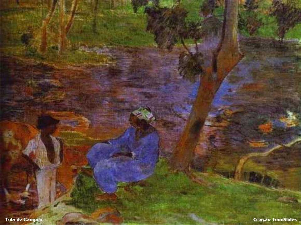 Tela de GauguinCriação TomiSlides