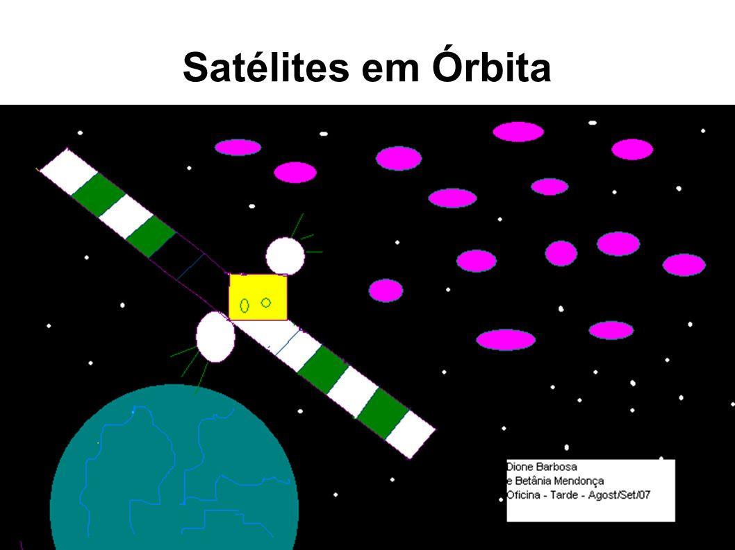 Satélites em Órbita