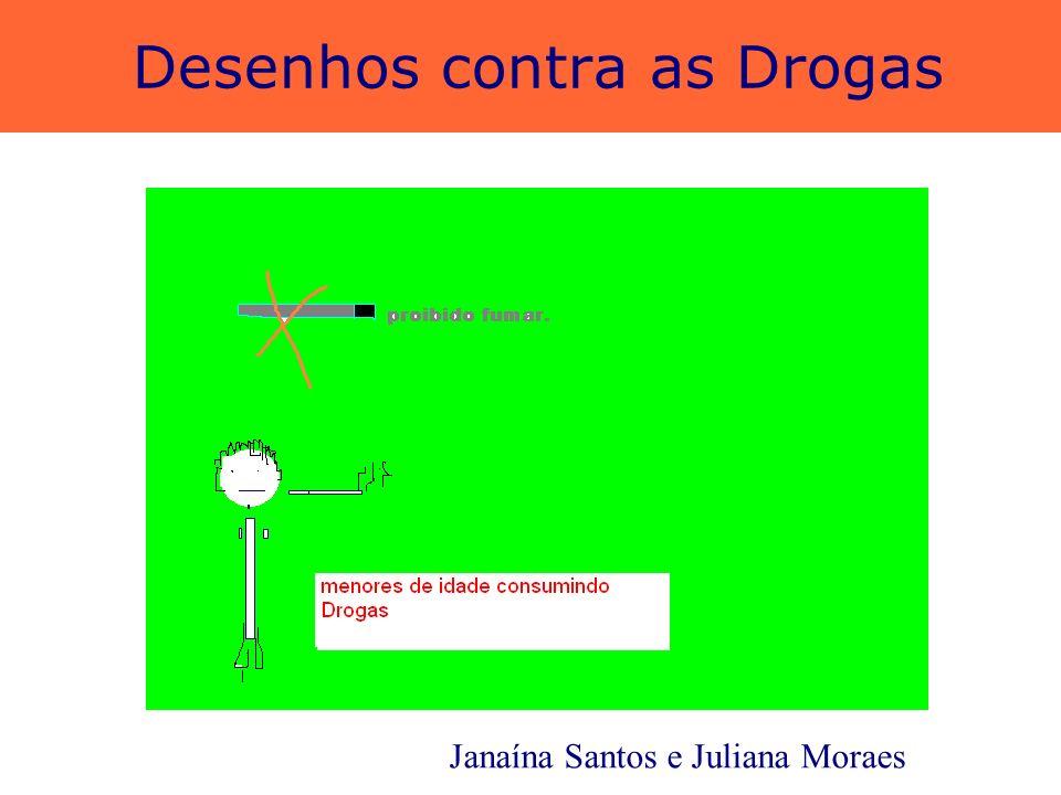 Desenhos contra as Drogas Luan Anderson e Felipe Leandro