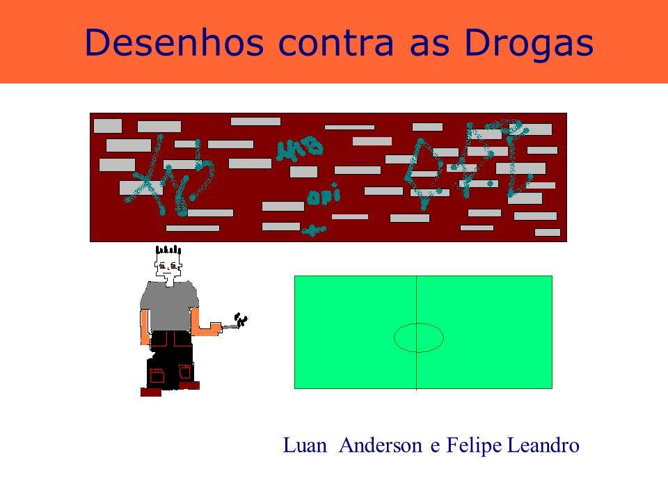 Desenhos contra as Drogas Felipe César