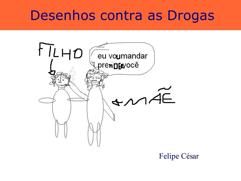 Desenhos contra as Drogas Naíza de Melo