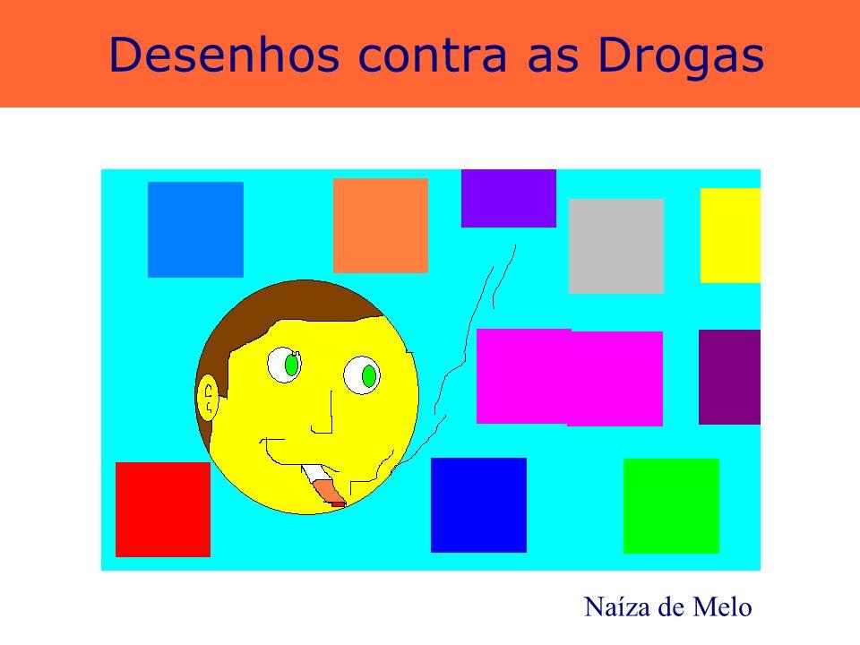 Desenhos contra as Drogas Jonathan Leandro e Natália Azevedo