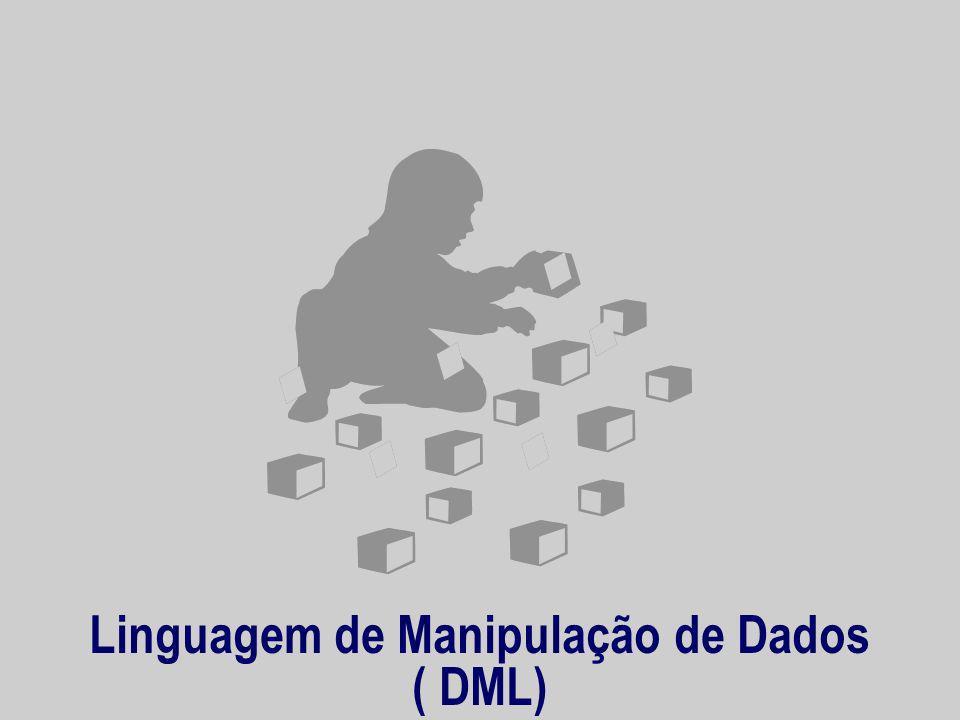 Linguagem de Manipulação de Dados ( DML)