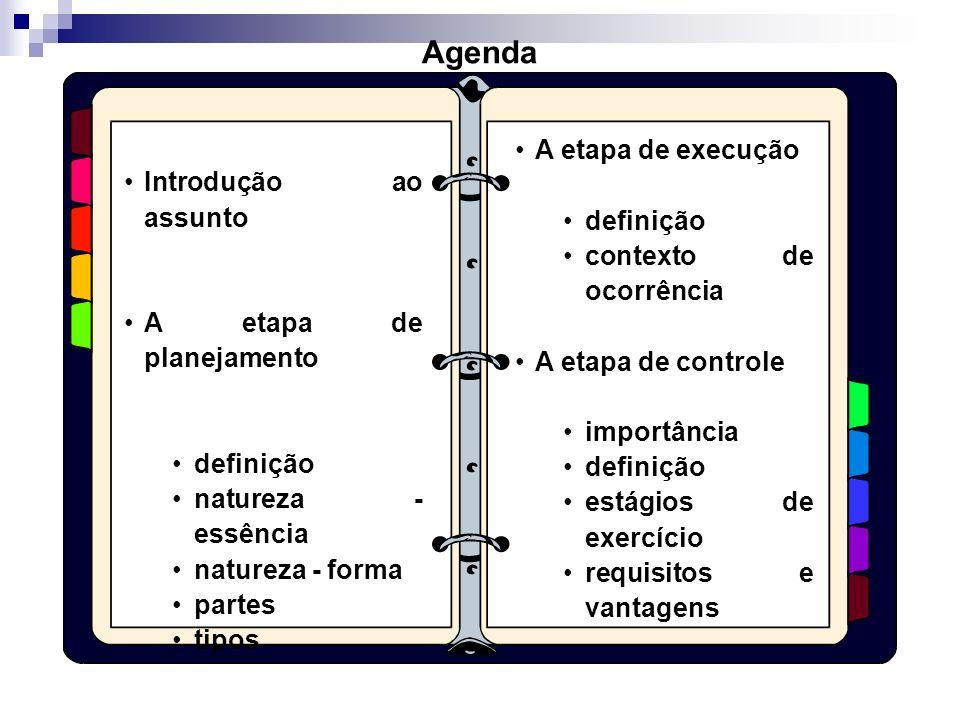 O PROCESSO DE GESTÃO ControleExecução Planejamento