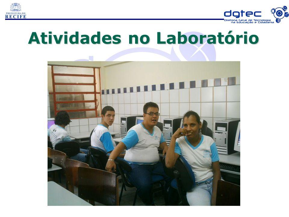 Atividades no Laboratório