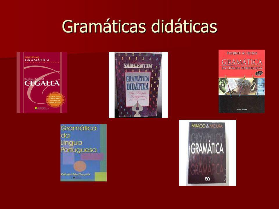 Gramáticas didáticas