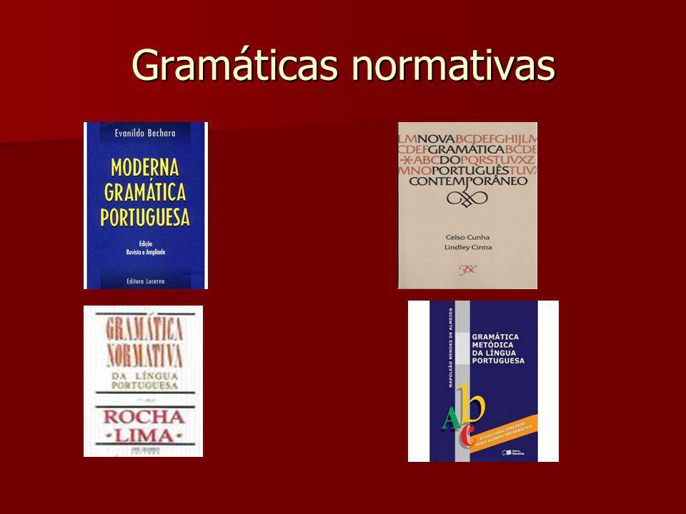 Gramáticas normativas