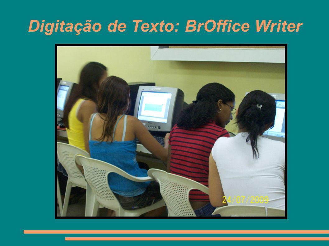 Digitação de Texto: BrOffice Writer