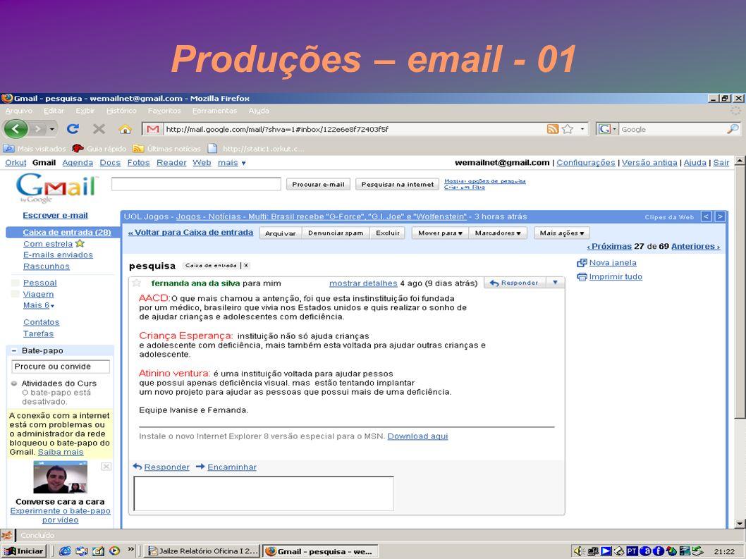 Produções – email - 01