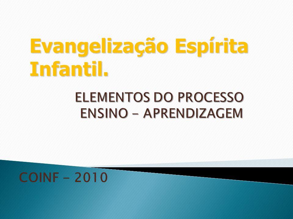 COINF - 2010 Evangelização Espírita Infantil.