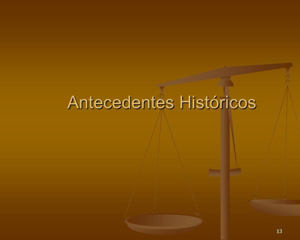 13 Antecedentes Históricos