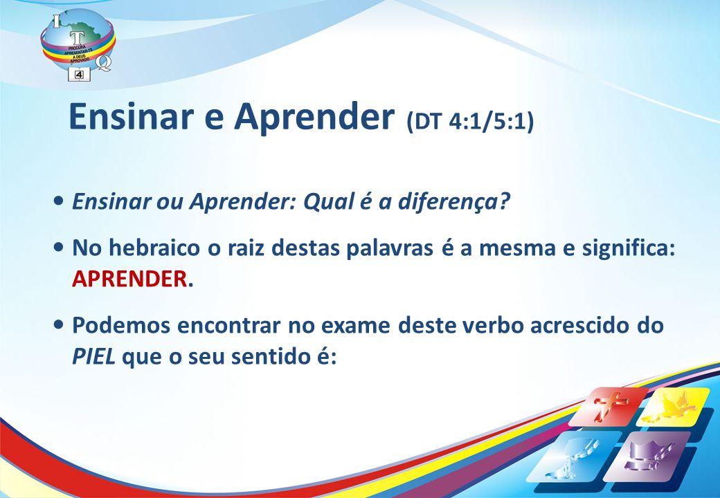 1.Ocupar-se avidamente do aprender (Traduzido como ENSINAR) 2.