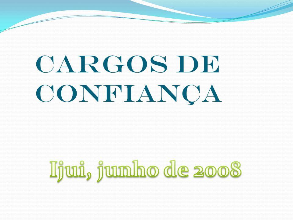 CARGOS DE CONFIANÇA