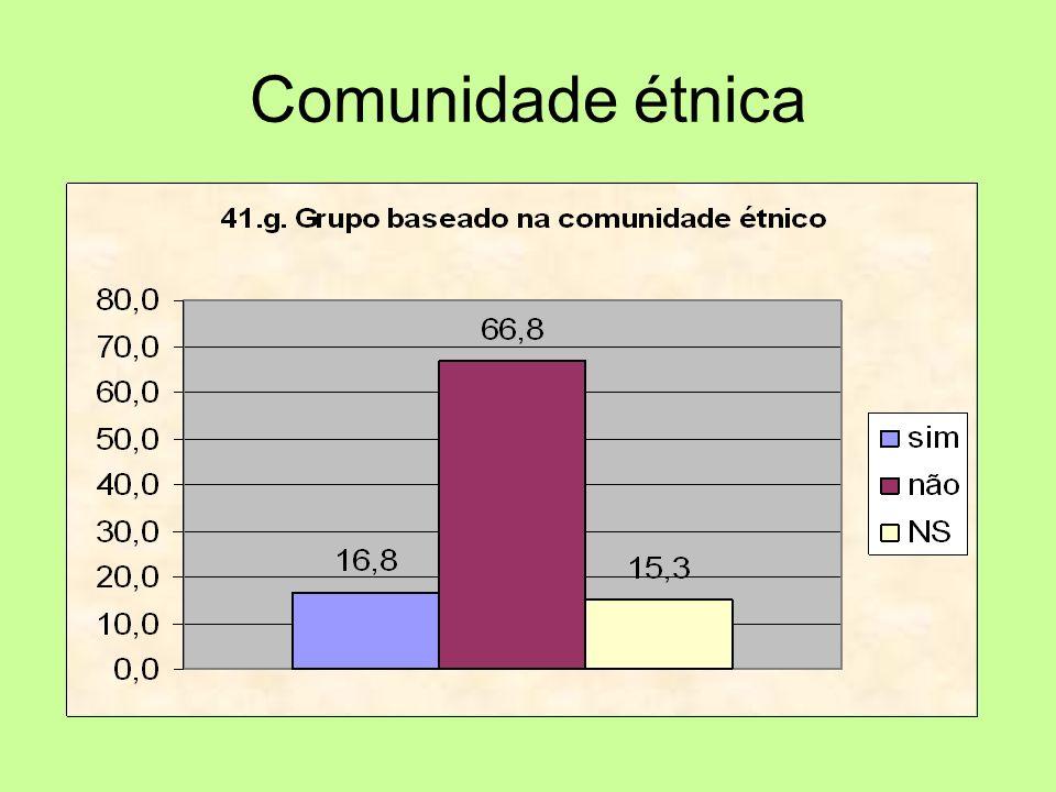 Comunidade étnica