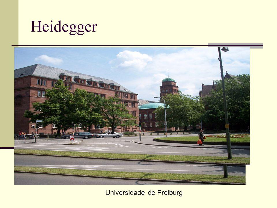 Heidegger Universidade de Freiburg
