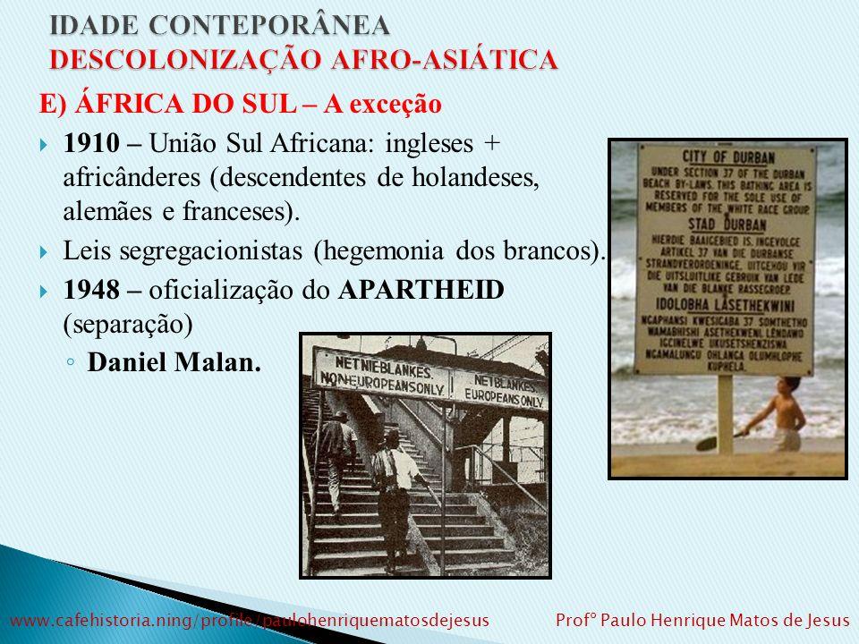Moçambique (1975): 1975: Independência (Acordo de Lusaka) 1975 – 1992: Guerra civil FRELIMO (socialista) X RENAMO (capitalista) Samora Machel – líder
