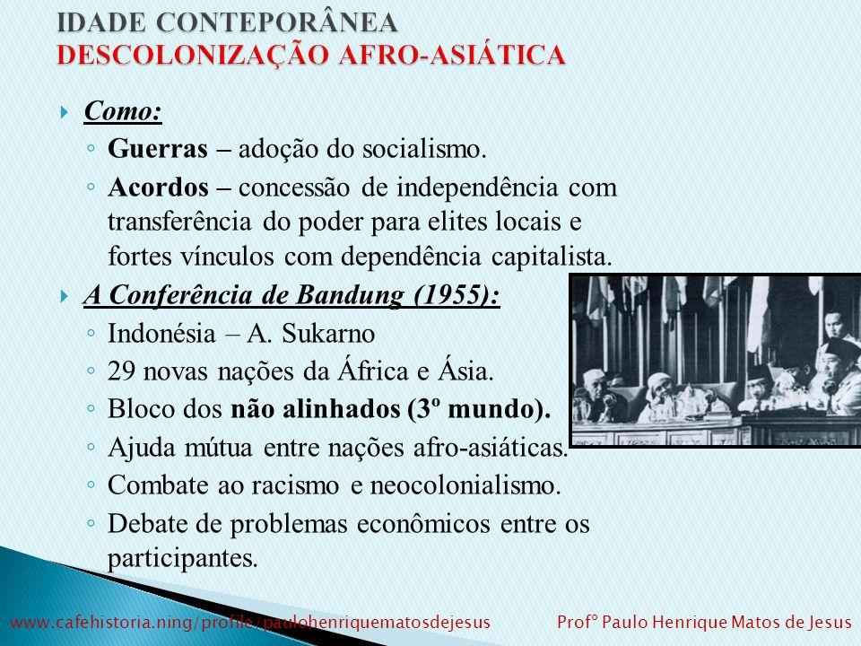 D) A GUERRA DO VIETNÃ: Conferência de Genebra: divisão do Vietnã era temporária.