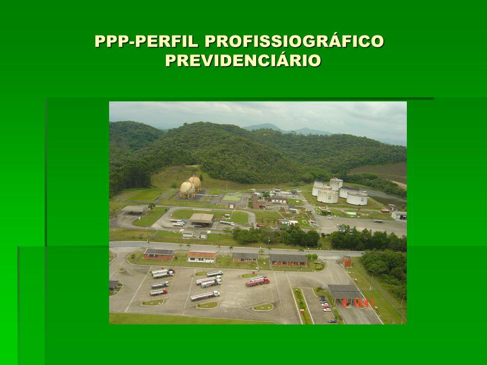 PPP-PERFIL PROFISSIOGRÁFICO PREVIDENCIÁRIO PPP-PERFIL PROFISSIOGRÁFICO PREVIDENCIÁRIO