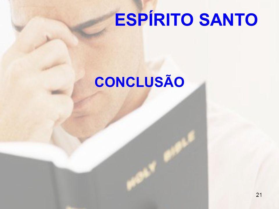 21 CONCLUSÃO ESPÍRITO SANTO