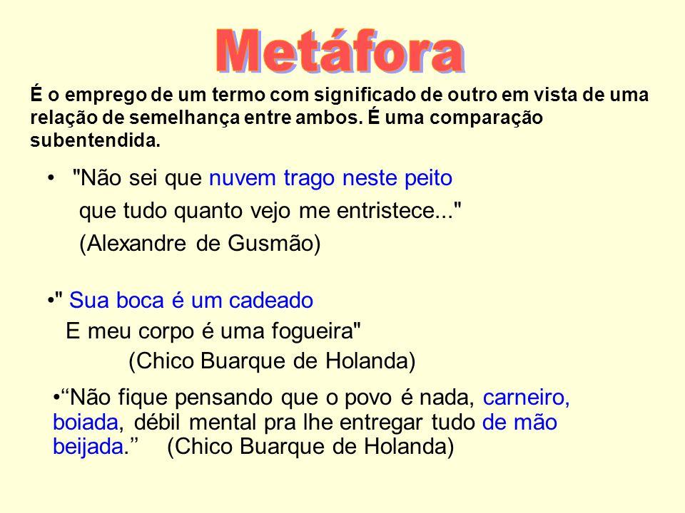 Figuras Semânticas Metáfora Comparação Prosopopéia Sinestesia Catacrese Metonímia Perífrase Antítese Paradoxo Eufemismo Hipérbole Ironia