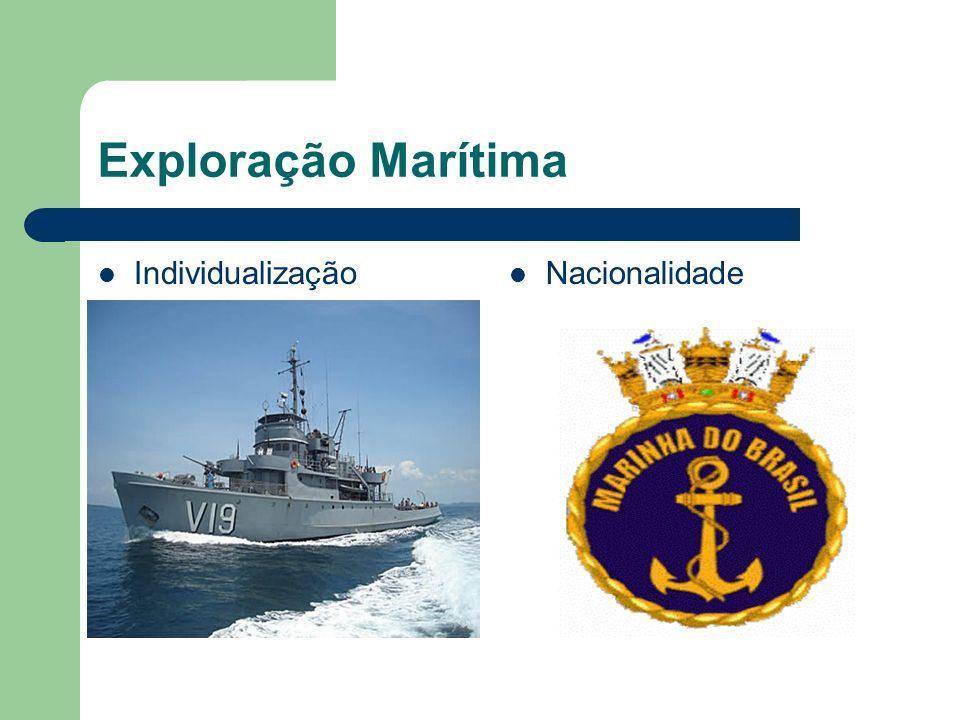 Exploração Marítima Individualização Nacionalidade