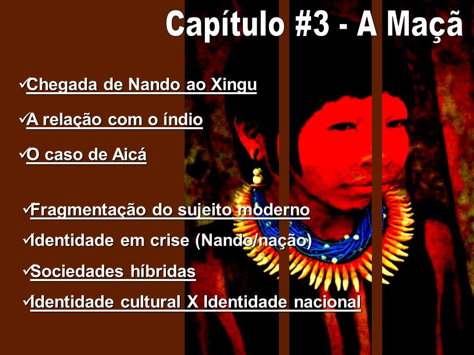 Chegada de Nando ao Xingu Chegada de Nando ao Xingu Chegada de Nando ao Xingu Chegada de Nando ao Xingu A relação com o índio A relação com o índio A