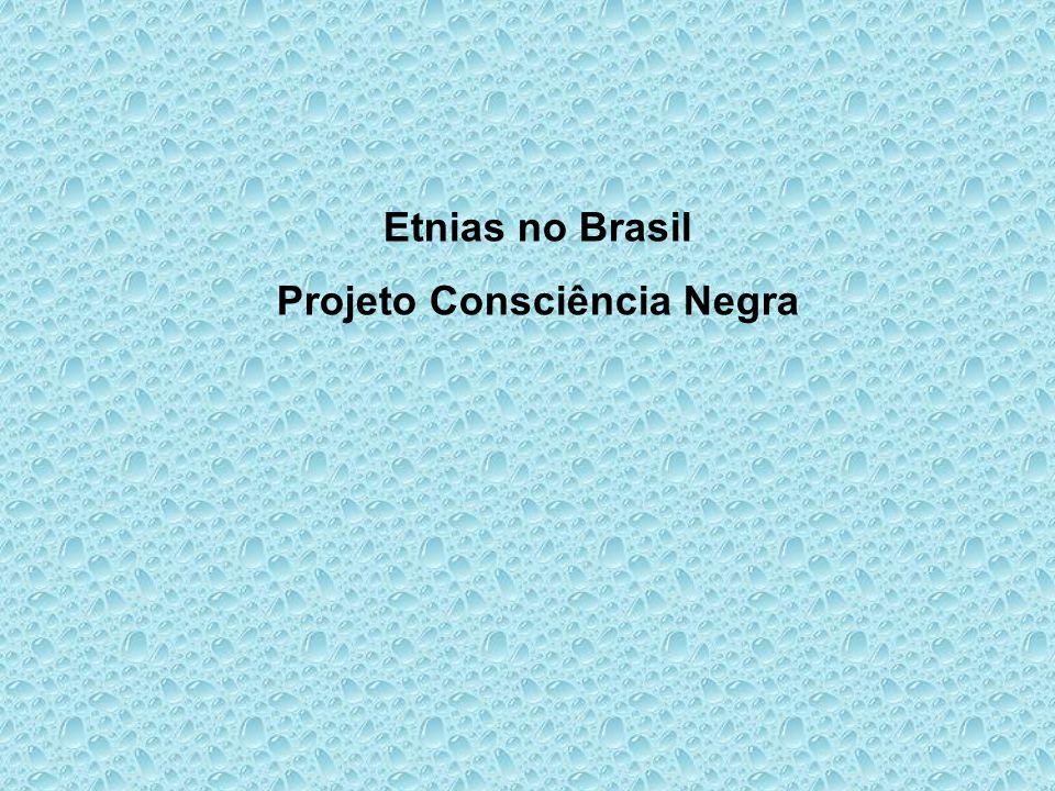 Etnias no Brasil Projeto Consciência Negra