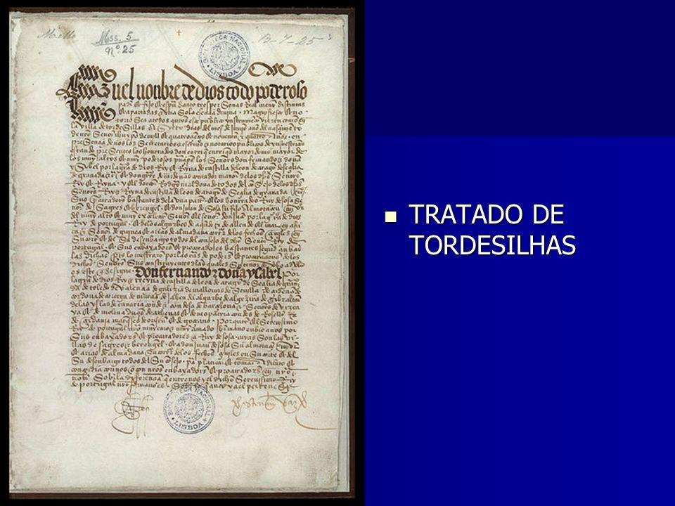 TRATADO DE TORDESILHAS TRATADO DE TORDESILHAS