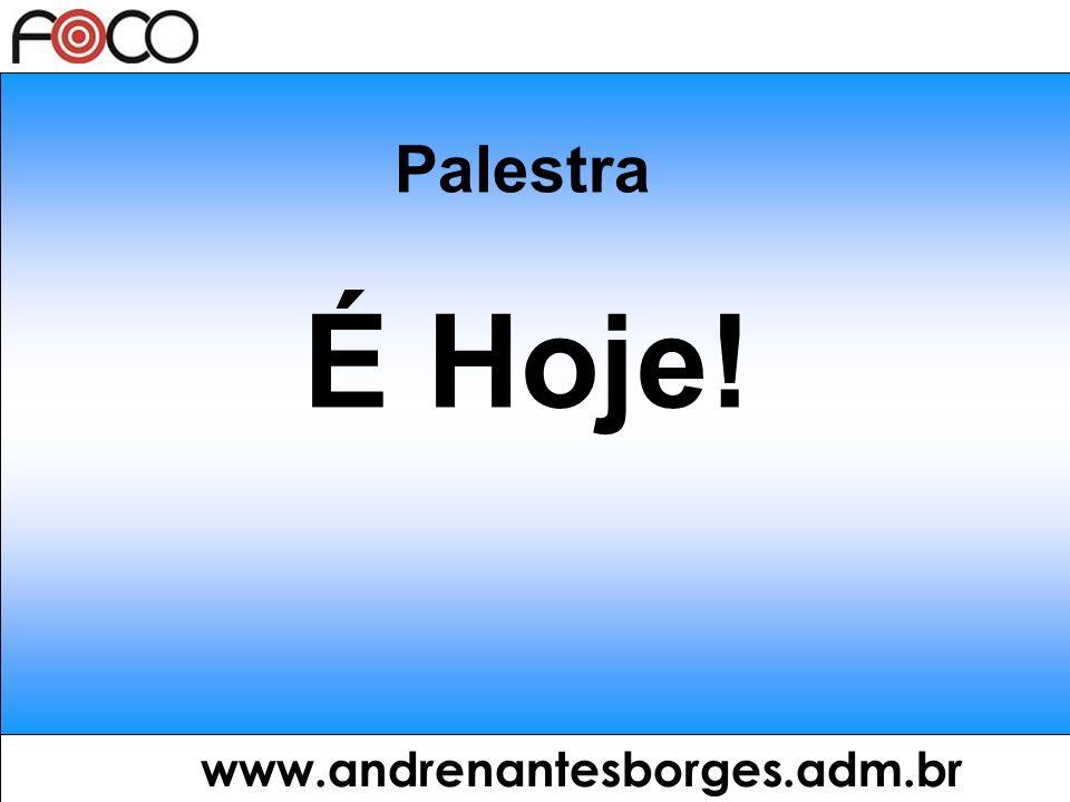 www.andrenantesborges.adm.br 3 chaves: Visão Disciplina Paixão