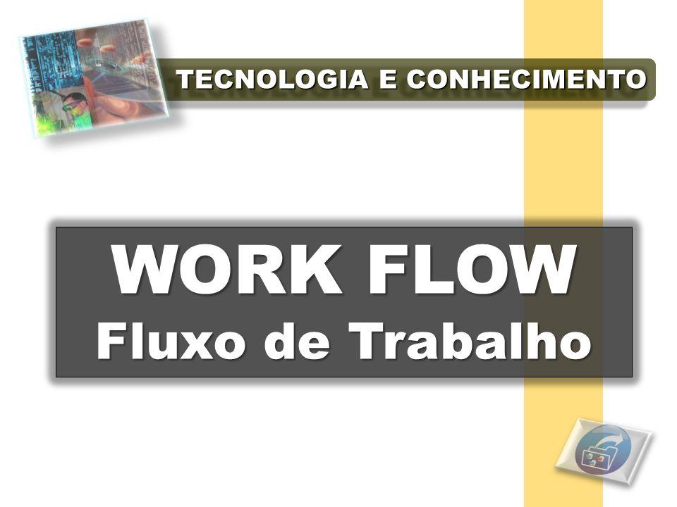 TECNOLOGIA E CONHECIMENTO WORK FLOW WORK FLOW Fluxo de Trabalho Fluxo de Trabalho