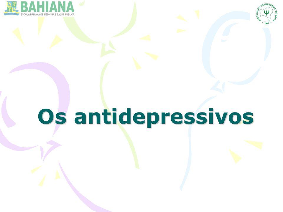 Os antidepressivos