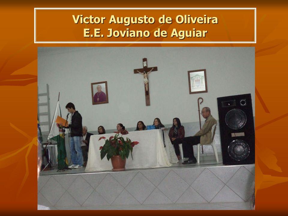 Victor Augusto de Oliveira E.E. Joviano de Aguiar