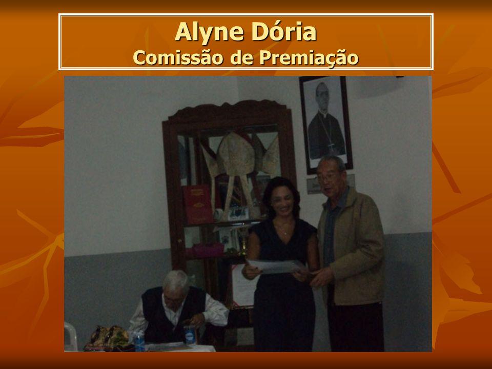 Alyne Dória Comissão de Premiação