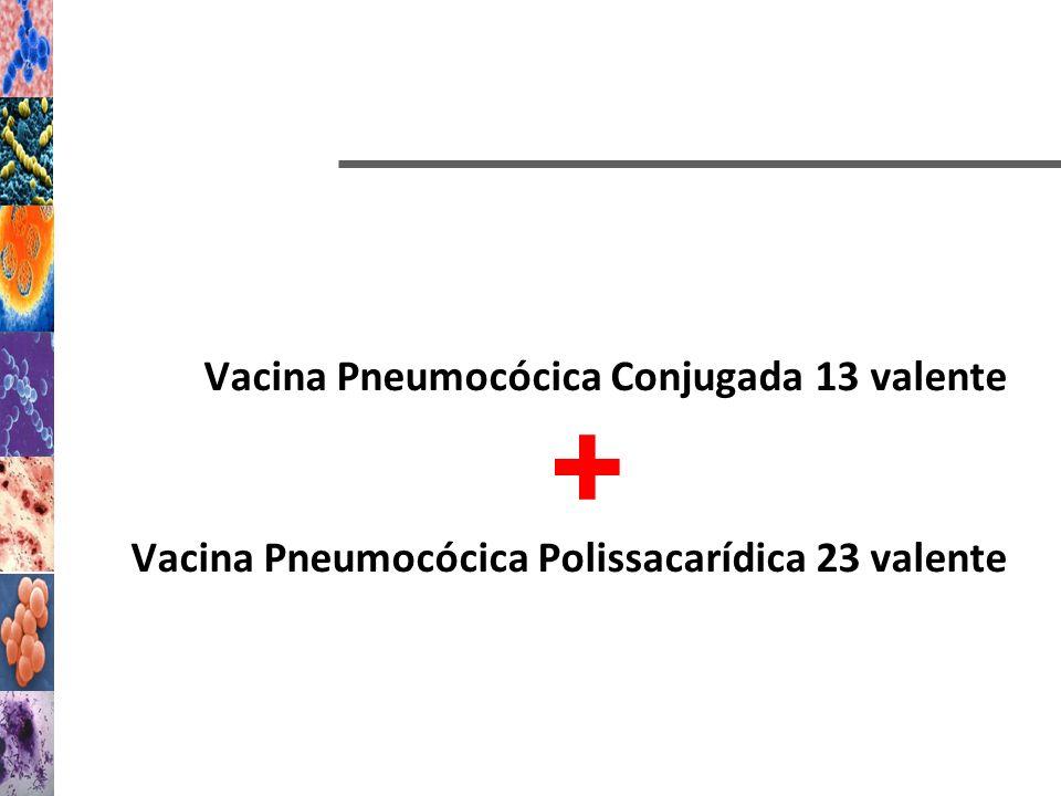 Vacina Pneumocócica Conjugada 13 valente Vacina Pneumocócica Polissacarídica 23 valente +