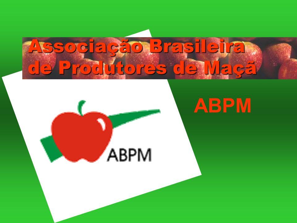 PRODUÇÃO BRASILEIRA DE MAÇÃ Média de produção décadas de 70, 80, 90 e 2000 a 2008.
