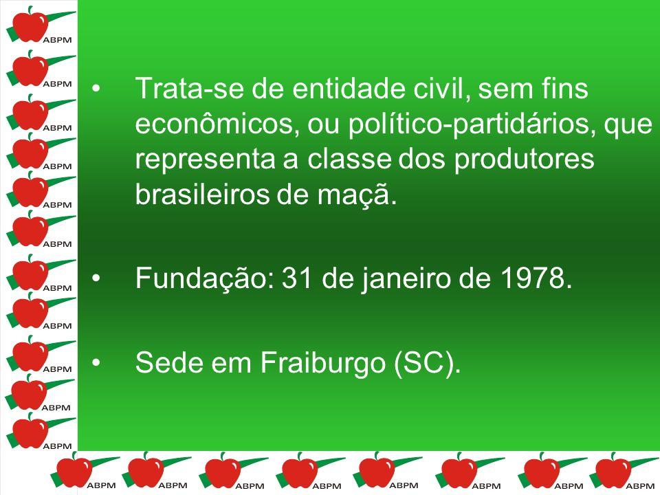 Trata-se de entidade civil, sem fins econômicos, ou político-partidários, que representa a classe dos produtores brasileiros de maçã. Fundação: 31 de