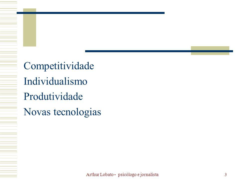 Arthur Lobato - psicólogo e jornalista24 Cartilha Assédio Moral.