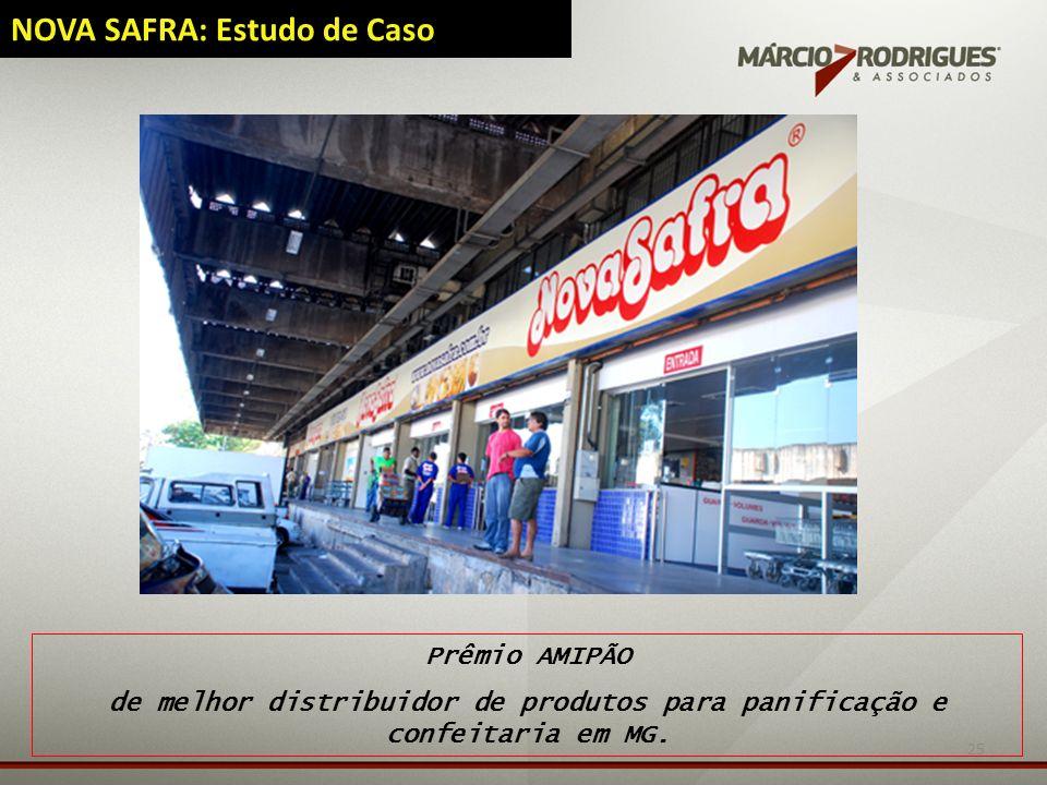 25 NOVA SAFRA: Estudo de Caso Prêmio AMIPÃO de melhor distribuidor de produtos para panificação e confeitaria em MG.