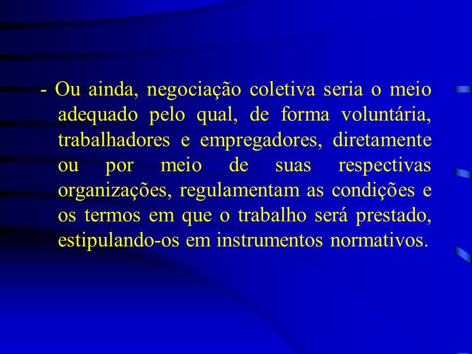 -Convenções nº 98 e 154 da OIT: tratam da promoção da negociação coletiva em todos os níveis.
