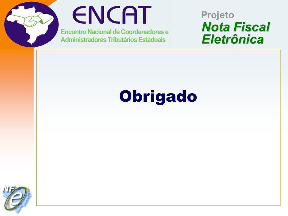Nota Fiscal Eletrônica Projeto Obrigado