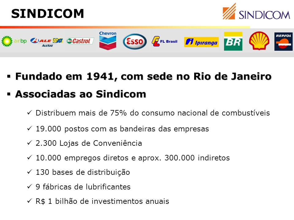 Fundado em 1941, com sede no Rio de Janeiro Fundado em 1941, com sede no Rio de Janeiro Associadas ao Sindicom Associadas ao Sindicom Distribuem mais
