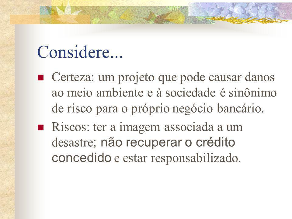 Considere...