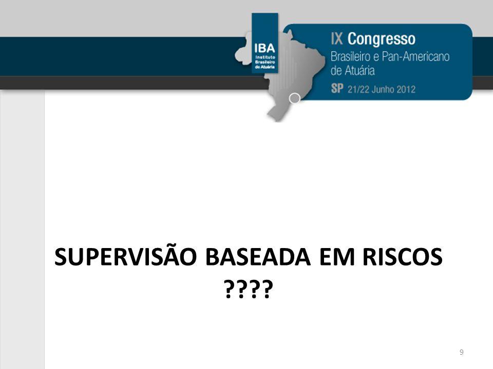 SUPERVISÃO BASEADA EM RISCOS ???? 9
