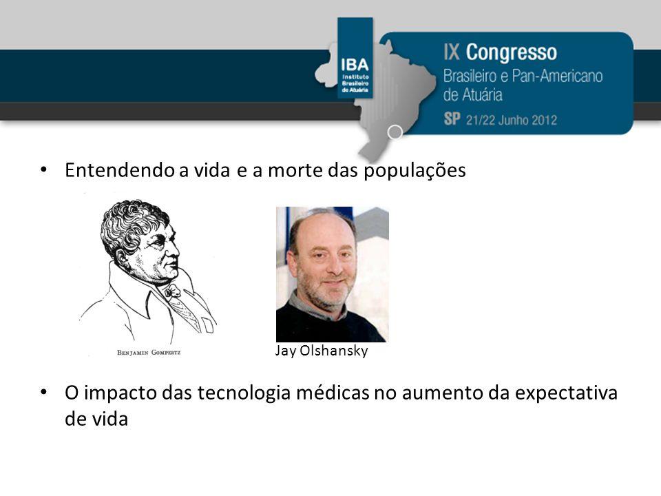 Entendendo a vida e a morte das populações O impacto das tecnologia médicas no aumento da expectativa de vida Jay Olshansky