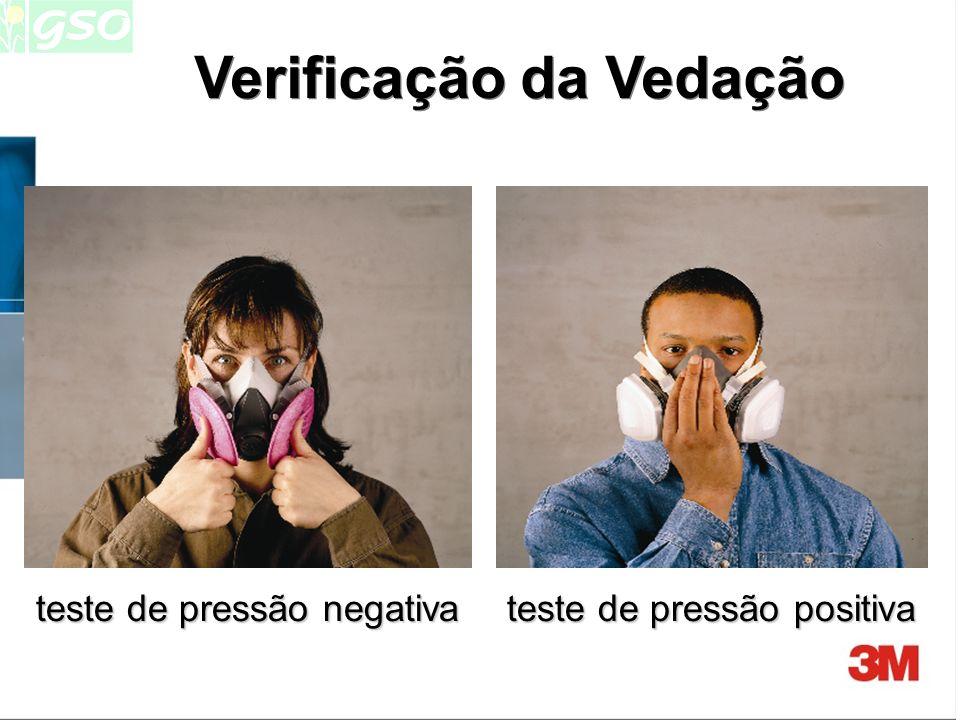 Verificação X Ensaio A VERIFICAÇÃO DE VEDAÇÃO é um ensaio rápido, feito pelo usuário, antes de entrar na área de risco ou a cada novo ajuste do respir